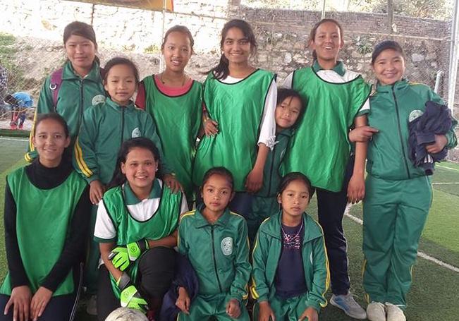FWHC Mädchen Fussball Mannschaft